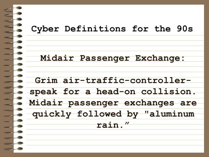 Midair Passenger Exchange: