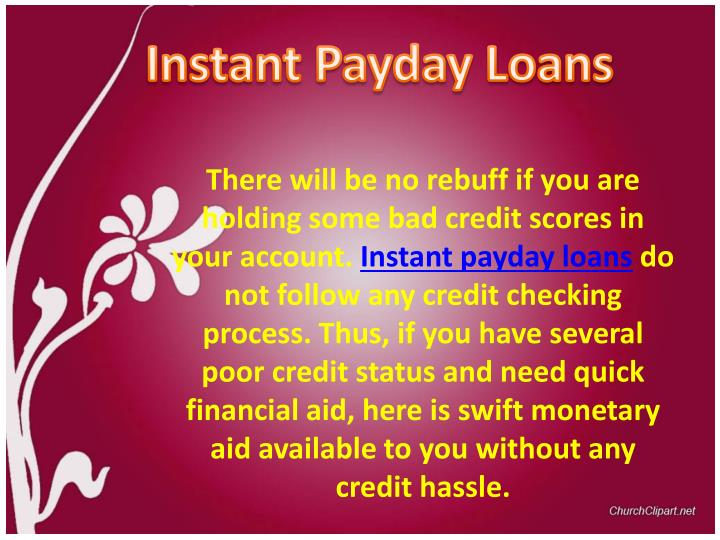 Instant Payday Loans