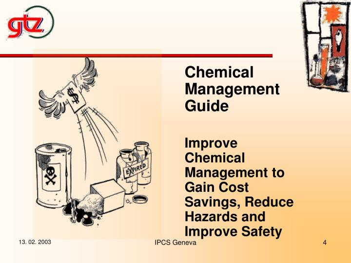 Chemical Management Guide