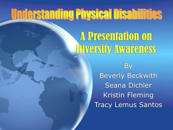 a presentation on diversity awareness n.
