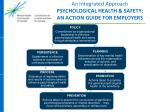 an integrated approach psychological health safety an action guide for employers