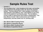 sample rules test2