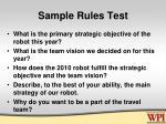 sample rules test3
