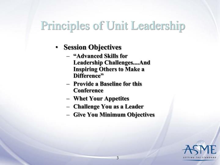 Principles of unit leadership1