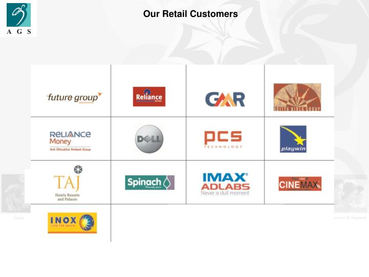 Our Retail Customers