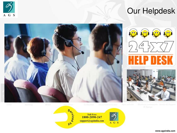 Our Helpdesk