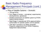 basic radio frequency management principals cont1