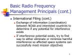 basic radio frequency management principals cont3