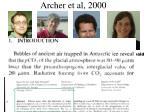 archer et al 2000
