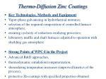 thermo diffusion zinc coatings1