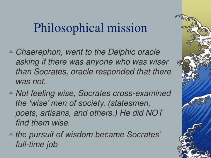 Philosophical mission