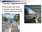 transit improvements