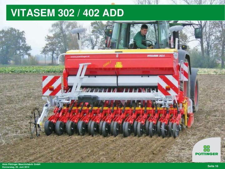 VITASEM 302 / 402 ADD