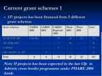 current grant schemes 1