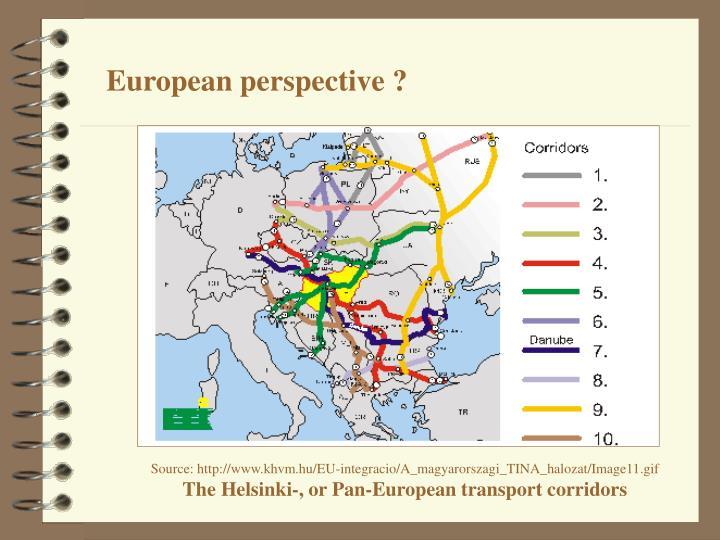 European perspective ?