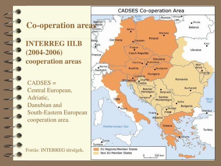 Co-operation areas