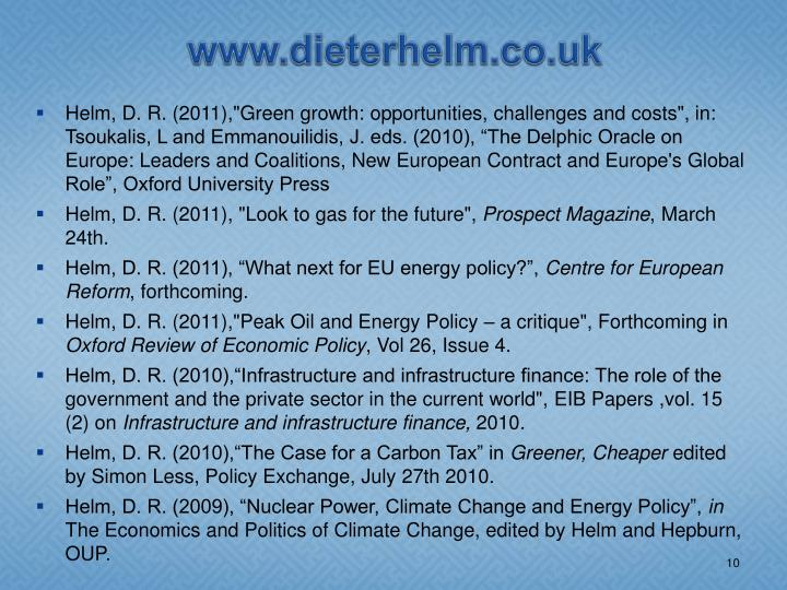 www.dieterhelm.co.uk