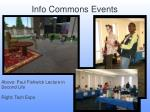 info commons events