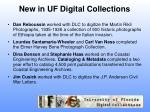 new in uf digital collections