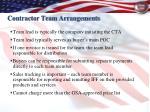 contractor team arrangements