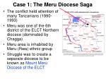 case 1 the meru diocese saga