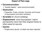 impact of pare saga