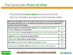 personalized email alerts are powerful tools that can broaden perceptions and increase sales