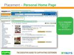 placement personal home page