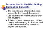 introduction to the distributing computing concepts
