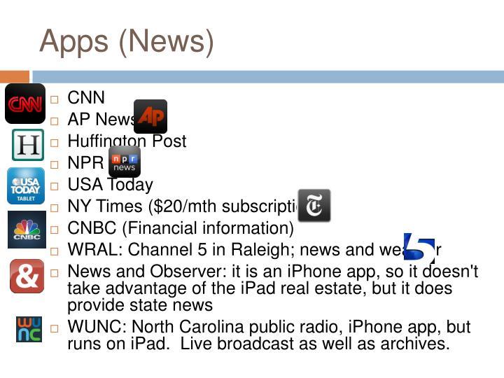 Apps (News)