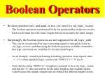 boolean operators1