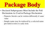package body1