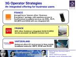 3g operator strategies an integrated offering for business users
