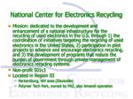 national center for electronics recycling