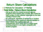return share calculations1