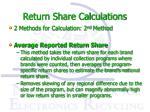 return share calculations2