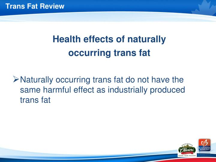 Trans Fat Review