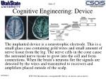 cognitive engineering device