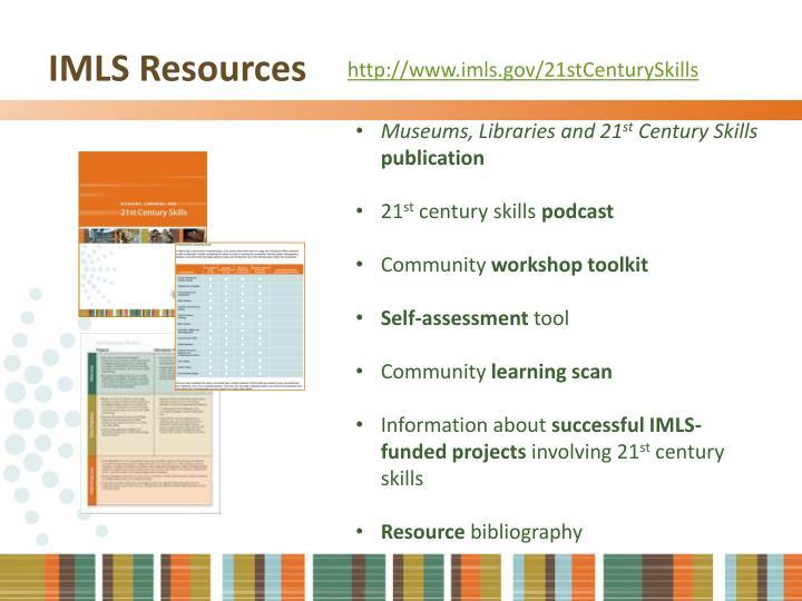 IMLS Resources