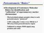 pericentromeric rulers