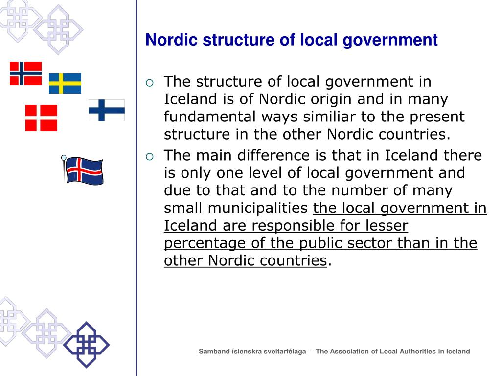 Nordic structure of local government
