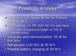 feasibility analysis1
