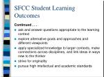 sfcc student learning outcomes8