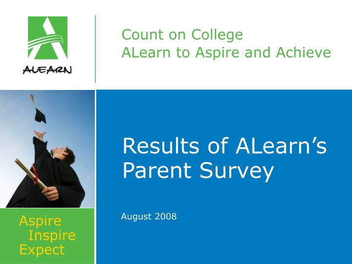 results of alearn s parent survey n.
