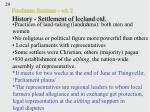 freshman seminar wk 2 history settlement of iceland ctd