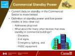 commercial standby power