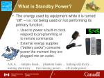 what is standby power