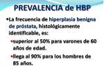 prevalencia de hbp