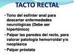 tacto rectal