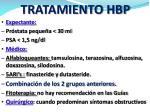 tratamiento hbp
